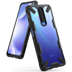 Keep your Xiaomi Poco X2 protected from bumps and drops with the Rearth Ringke Fusion X tough case in Black. Featuring a 2-part, Polycarbonate design, this case lives up to military drop-test standards.
