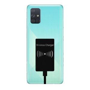 Enable wireless charging for your samsung galaxy A71 USB-C device without replacing your back cover or case with this Ultra Thin Qi Wireless Charging Adapter.