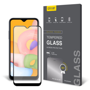 This ultra-thin tempered glass screen protector for the Samsung Galaxy A01 from Olixar offers toughness, high visibility and sensitivity all in one package.