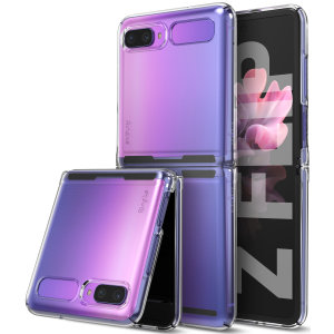 The slim, hardened construction makes the Slim clear case from Ringke for the Samsung Galaxy Z Flip one of the slimmest yet most protective case in its class. The Slim series Case has the style you want with the protection your Z Flip needs.