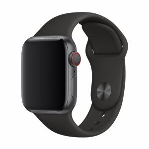 Treat your brand new Apple Watch Series 3 / 2 / 1 with the ultra-high quality silicone strap in black. Comfortable, durable and stylish, this Devia strap is designed to suit your personal sense of style that keeps it shape for a long time.