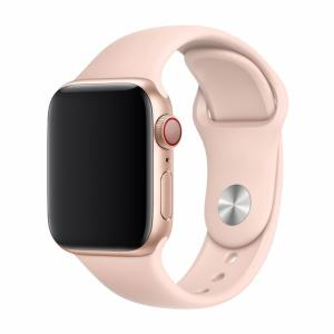 Treat your brand new Apple Watch 44mm / 42mm with the ultra-high quality silicone strap in pink sand. Comfortable, durable and stylish, this Devia strap is designed to suit your personal sense of style that keeps it shape for a long time.
