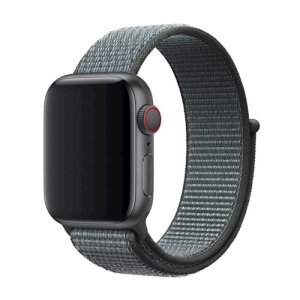 Treat your brand new Apple Watch Series 5 / 4 with the ultra-high quality silicone strap in grey. Comfortable, durable and stylish, this Devia strap is designed to suit your personal sense of style.