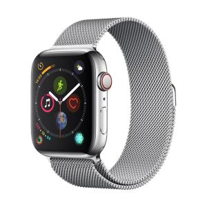 The Devia watch strap made from durable stainless steel is designed to fit any wrist with it's elegant design. Suitable for the 44mm / 42mm Apple Watches.