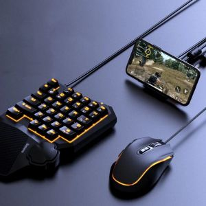 The Baseus GAMO Mobile Gaming Hub brings the unparalleled speed and precision of a keyboard and mouse to mobile gaming, giving you the advantage you've been looking for with all your favorite FPS, RPG and RTS games.