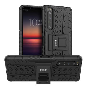 Protect your Sony Xperia 1 II from bumps and scrapes with this black ArmourDillo case. Comprised of an inner TPU case and an outer impact-resistant exoskeleton, the Armourdillo offers sturdy and robust protection.