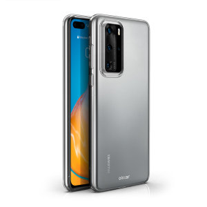 Custom moulded for the Huawei P40 Pro, this 100% clear Ultra-Thin case by Olixar provides slim fitting and durable protection against damage.