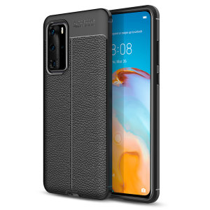 Olixar Attache Huawei P40 Pro Leather-Style Protective Case - Black