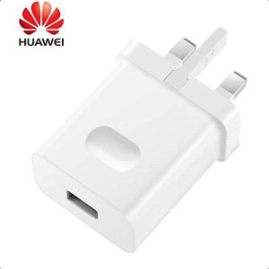 Official Huawei SuperCharge Mains Charger Plug - White