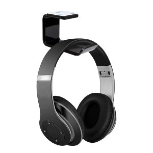 Olixar Ultra Grip Office Desk Headphone Holder - Black