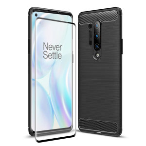 Olixar Sentinel OnePlus 8 Pro Case And Glass Screen Protector