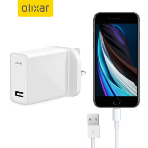 High Power iPhone SE 2020 Wall Charger & 1m Cable