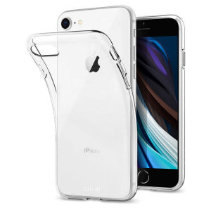 This ultra-thin 100% transparent gel case from Olixar provides a very slim fitting design, which adds no additional bulk to your iPhone SE 2020. Offering durable protection against damage, while revealing the beauty of your phone from within.