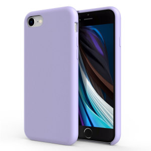 Custom moulded for the iPhone SE 2020, this lilac soft silicone case from Olixar provides excellent protection against damage as well as a slimline fit for added convenience.