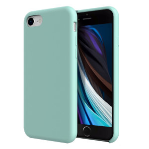 Custom moulded for the iPhone SE 2020, this pastel green soft silicone case from Olixar provides excellent protection against damage as well as a slimline fit for added convenience.