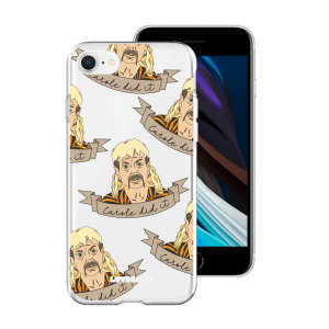 Take your iPhone SE 2020 to the wild side with this Tiger King Range 'Carol Did It' phone case from LoveCases. Cute but protective, the ultra-thin case provides slim fitting and durable protection against life's little accidents.