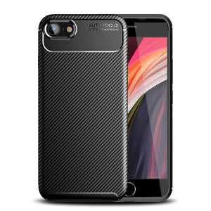 Olixar Carbon Fibre case is a perfect choice for those who need both the looks and protection! A flexible TPU material is paired with an eye-catching carbon print to make sure your Apple iPhone SE 2020 is well-protected and looks good in any situation.