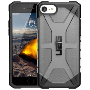 The Urban Armour Gear Plasma for the iPhone SE 2020 features a protective TPU case in Ash Grey with a brushed metal UAG logo insert for an amazing design and excellent protection from scrapes, bumps and scratches.