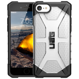The Urban Armour Gear Plasma for the iPhone SE 2020 features a protective TPU case in Ice Grey with a brushed metal UAG logo insert for an amazing design and excellent protection from scrapes, bumps and scratches.