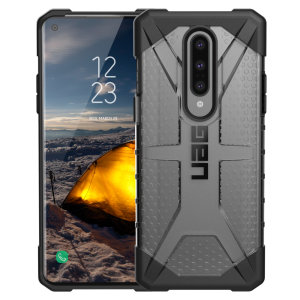 The Urban Armour Gear Plasma for the OnePlus 8 features a protective TPU case in ice Grey with a brushed metal UAG logo insert for an amazing design and excellent protection from scrapes, bumps and scratches.