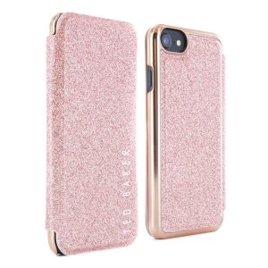 Ever wanted to check how you're looking on the go? With the Ted Baker Glitsie Mirror Folio case for iPhone SE 2020, you can do just that thanks to a concealed mirror on the inside of the case's flip cover. This sleek case also offers excellent protection.