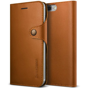 Protect your iPhone 7 / 8 with this precisely designed Genuine Leather Diary case from VRS Design. Made with genuine leather, this case provides protection, security and a sophisticated look ensuring your iPhone 7 / 8 is ready for any occasion.