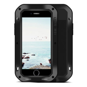 Love Mei Powerful iPhone SE 2020 Protective Case - Black