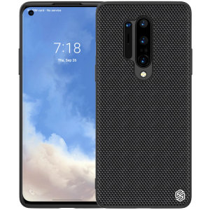 Nillkin OnePlus 8 Pro Nylon Fibre Ultra-Thin Textured Case  - Black