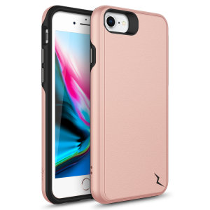 The sleek division series for the iPhone SE 2020. The Rose gold finish gives you protection for your phone in style. This case is made for pure luxury and style.