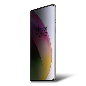 Keep your OnePlus 8 Pro screen in pristine condition and protect your personal data on the go with this Olixar scratch-resistant film privacy screen protector 2-in-1 pack.