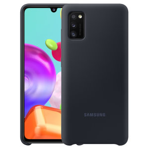 Protect your New Samsung Galaxy A41 with this Official silicone case in black. Simple yet stylish, this case is the perfect accessory for your Galaxy A41.