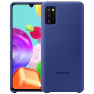 Protect your New Samsung Galaxy A41 with this Official silicone case in Blue. Simple yet stylish, this case is the perfect accessory for your Galaxy A41.