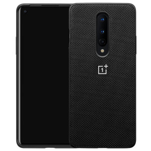 This Official OnePlus bumper case in black nylon is the perfect accessory offering all-round protection for your OnePlus 8. Offering reliable protection with a luxury textured touch the nylon case is perfect for the OnePlus 8.