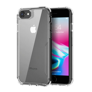 Perfect for iPhone 8 owners looking to provide exquisite protection that won't compromise Apple's sleek design, the NovaShield from Olixar combines the perfect level of protection in a sleek clear bumper package.