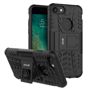 Protect your iPhone 7 from bumps and scrapes with this black ArmourDillo case. Comprised of an inner TPU case and an outer impact-resistant exoskeleton, the Armourdillo not only offers sturdy and robust protection, but also a sleek modern styling.