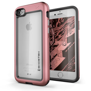 Equip your new iPhone SE 2020 with the most extreme and durable protection around! The Pink Ghostek Atomic Slim provides rugged drop and scratch protection whilst keeping the phone slim and stylish.