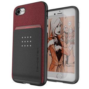 Ghostek Exec 2 iPhone SE 2020 Wallet Case - Red