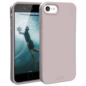 The Urban Armour Gear biodegradable Outback for the iPhone SE 2020 features a protective TPU case in Lilac with cleverly conceived anti-skid pads & a lightweight but rugged frame - all in one sleek protective package.