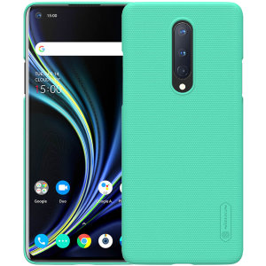 Nillkin Super Frosted OnePlus 8 Shield Case - Mint Green