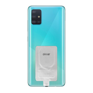 Add wireless charging to your Samsung Galaxy A51 device without replacing your back cover or case with this Olixar Ultra Thin Qi Wireless Charging Adapter.