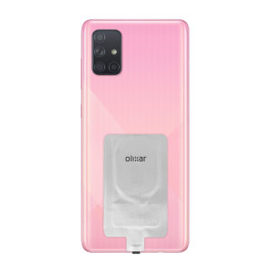 Add wireless charging to your Samsung Galaxy A71 device without replacing your back cover or case with this Olixar Ultra Thin Qi Wireless Charging Adapter.