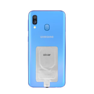 Add wireless charging to your Samsung Galaxy A40 device without replacing your back cover or case with this Olixar Ultra Thin Qi Wireless Charging Adapter.