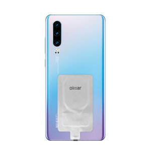 Add wireless charging to your Huawei P30 device without replacing your back cover or case with this Olixar Ultra Thin Qi Wireless Charging Adapter.