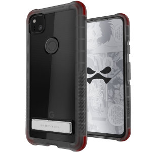 Custom moulded for the Google Pixel 4a, the Ghostek tough case in Black colour provides a slim fitting, stylish design and reinforced corner protection against shock damage, keeping your Google Pixel 4a looking great at all times.