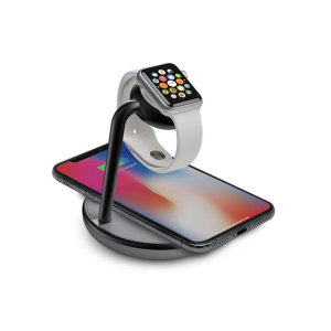 This Kanex Wireless Charging Pad & Watch Stand allows you to charge your smartphone and even your Apple Watch wirelessly. The quick charging allows uninterrupted and long lasting used for all Qi enabled devices especially your Apple Watch & iPhone.