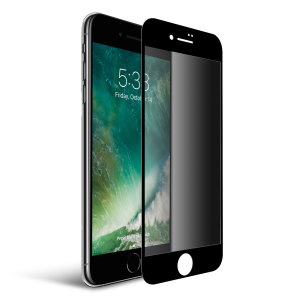 This tempered glass screen protector for the iPhone 7 from Olixar has complete edge to edge screen protection, toughness, high visibility and sensitivity all in one package, with the added bonus of a privacy filter.