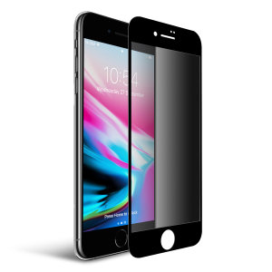 This tempered glass screen protector for the iPhone 8 from Olixar has complete edge to edge screen protection, toughness, high visibility and sensitivity all in one package, with the added bonus of a privacy filter.
