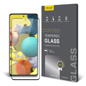 Olixar Samsung Galaxy A51 5G Tempered Glass Screen Protector