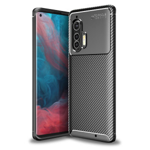 Olixar Carbon Fibre case is a perfect choice for those who need both the looks and protection! A flexible TPU material is paired with an eye-catching carbon print to make sure your Motorola Edge Plus is well-protected and looks good in any situation.
