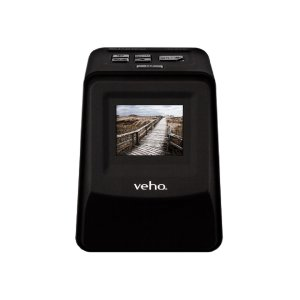 "Transfer your negative film and slides directly to an SD card with the Veho Smartfix 14mp Scanner. Featuring a handy 2.4"" preview screen, this is perfect for editors, creators and designers who want to snap and develop digital photos from any setting."